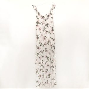 Dresses & Skirts - White floral maxi
